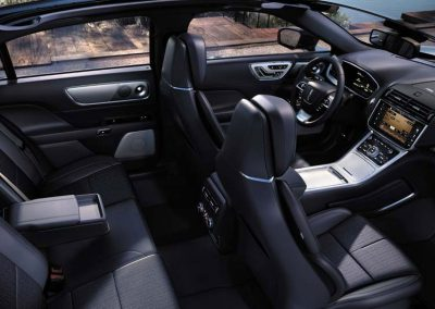 Luxury Sedan Interior